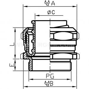 Łącznik rury stalowy do rur ochronnych typu MWO...S