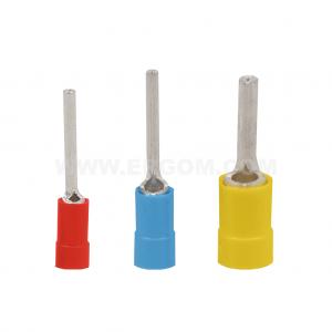 Końcówki kablowe igiełkowe izolowane typu KII