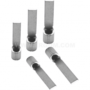 Końcówki kablowe igiełkowe płaskie typu KP