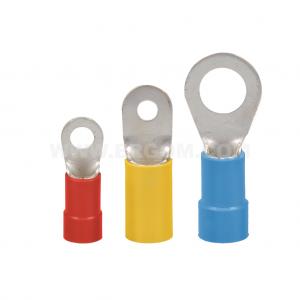Końcówki kablowe oczkowe izolowane KOI