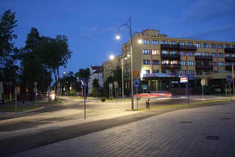 Oświetlenie ul. Odrodzenia w Lubinie