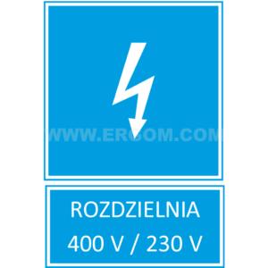TZI - ROZDZIELNIA 400V/230V