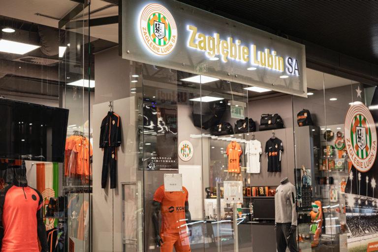 Zagłębie Lubin Sklep i Stadion Nowoczesne Oświetlenie